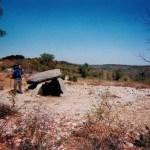 Bij dolmen na Grealou